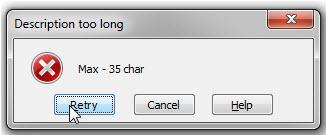 Data error alert in Excel