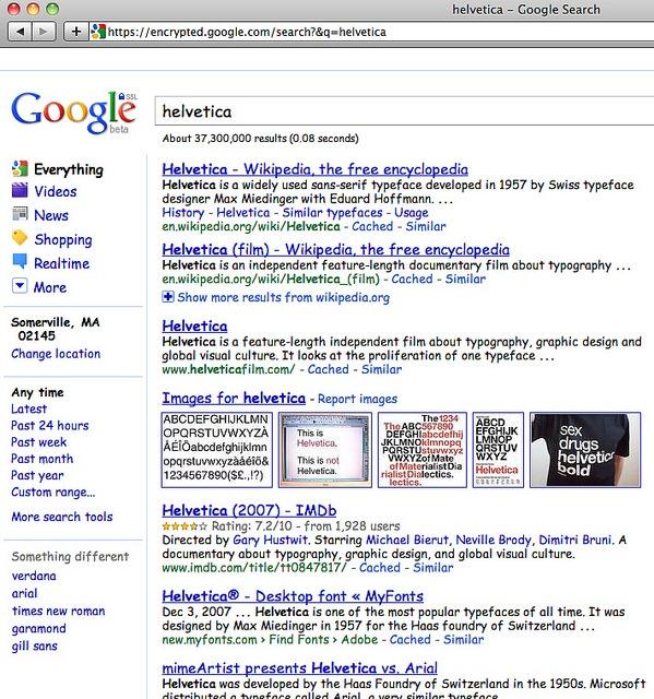 1. Google Comic Sans_Helvetica