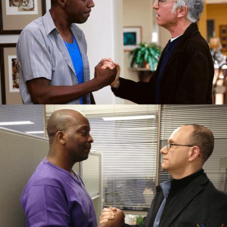 Richard and Gary vs Curb your Enthusiasm