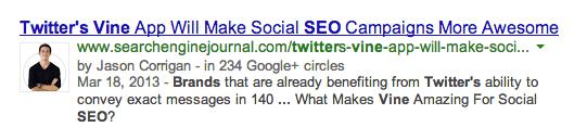 Google Authorship Markup   Google Hummingbird   Search Marketing Campaigns