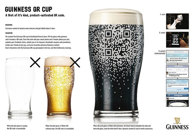 Products with QR codes