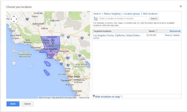 AdWords-Targeting-County