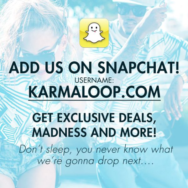 karmaloop-on-snapchat