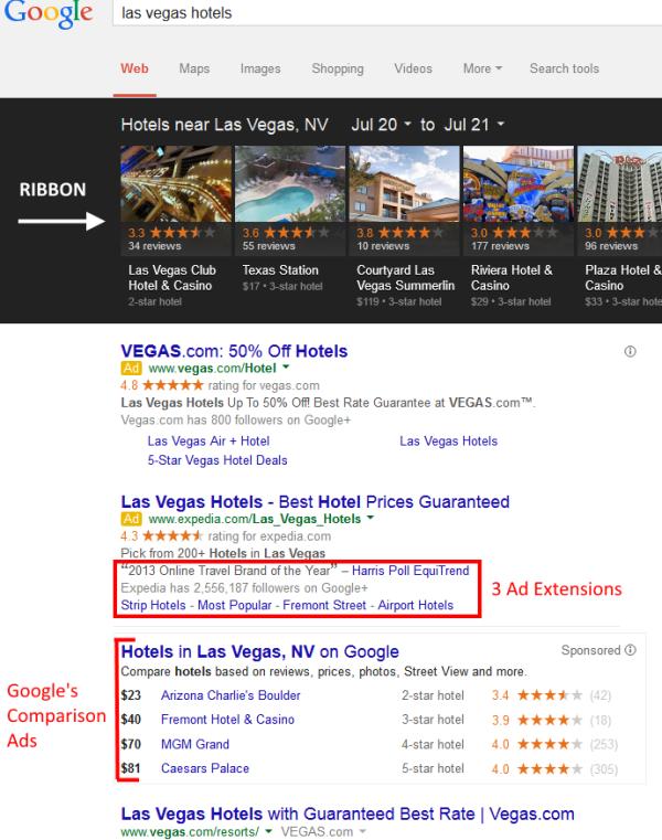 Las-Vegas-Hotels-SERP