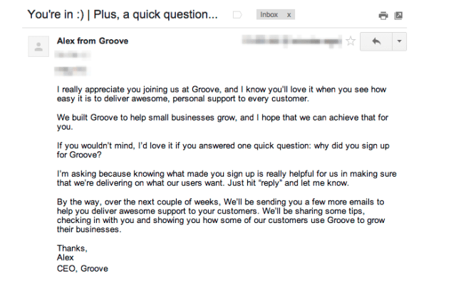 email follow up
