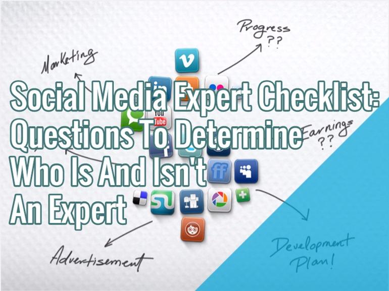 social-media-expert-checklist
