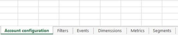 Excel solution design template