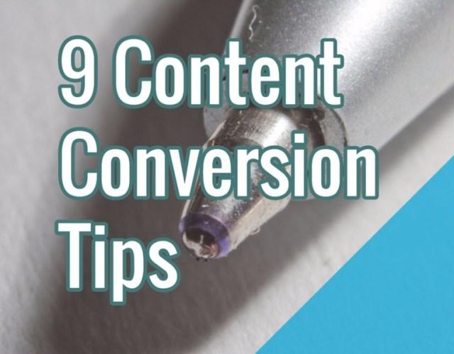 content-conversion