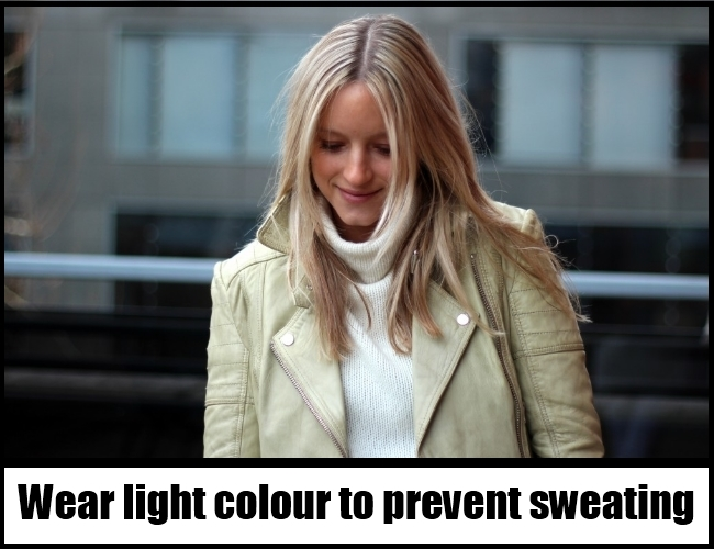 wear light colours