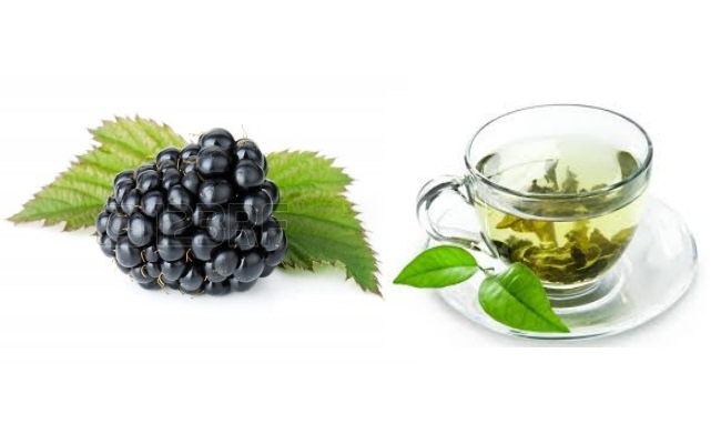 Blackberry, Raspberry Or Green Tea
