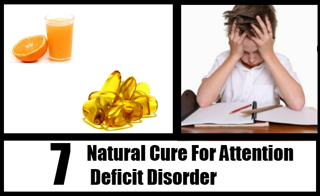 Natural Cure For Attention Deficit Disorder