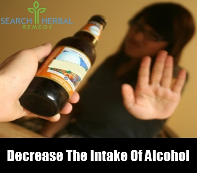 Decrease The Intake of Alcohol
