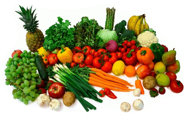 Eat Fresh Fruits And Vegetables
