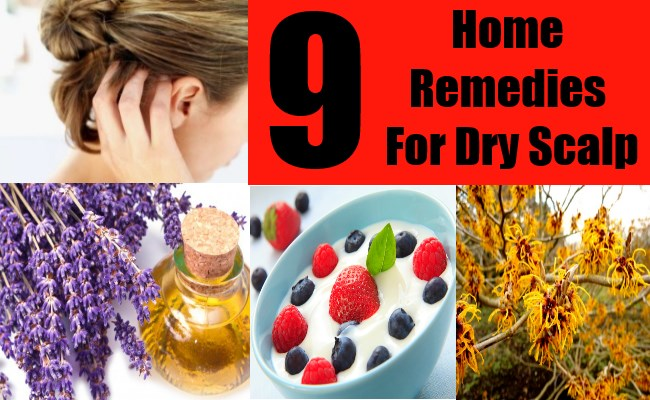 9 Home Remedies For Dry Scalp