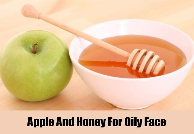 Apple And Honey For Oily Face