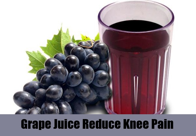Grape Juice Reduce Knee Pain