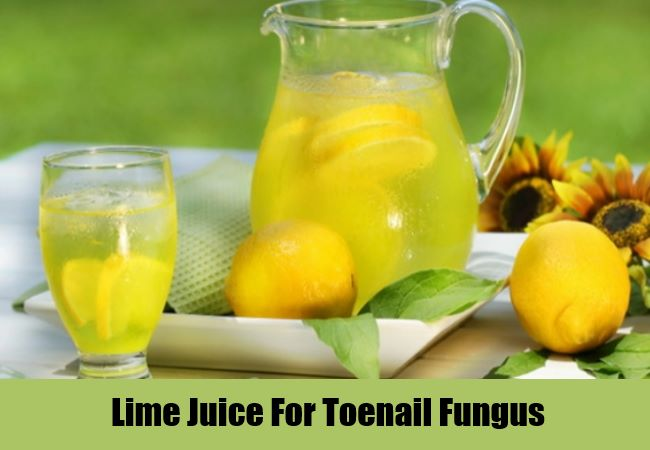 Lime Juice For Toenail Fungus