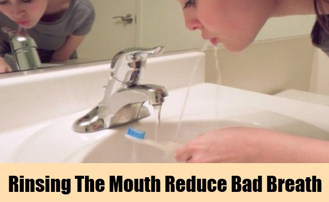 Rinsing the Mouth