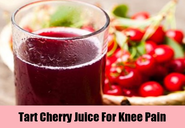 Tart Cherry Juice For Knee Pain