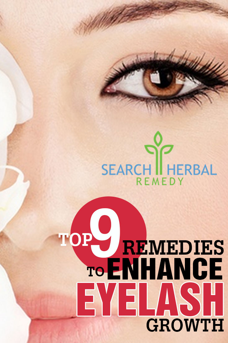 9 Home Remedies To Enhance Eyelash Growth - Natural Treatments ...