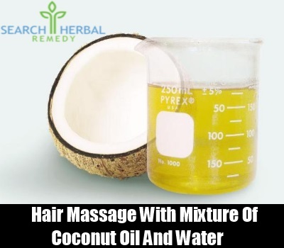 Coconut Oil and Water