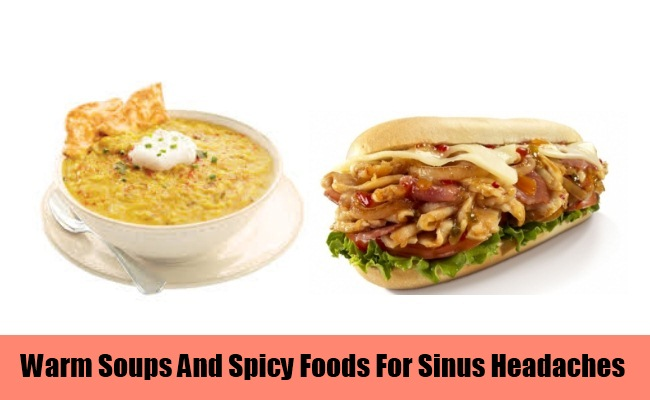 Take Warm Soups And Spicy Foods