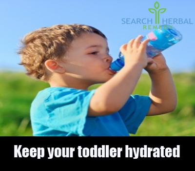 keep your toddler hydrated