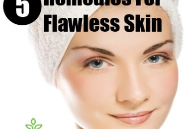 5 Remedies For Flawless Skin
