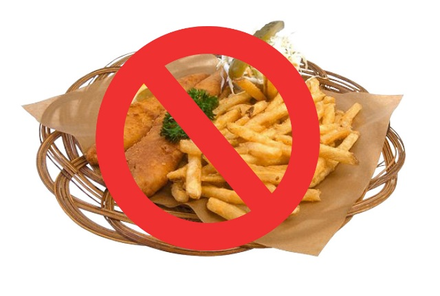 Avoid Fried Foods