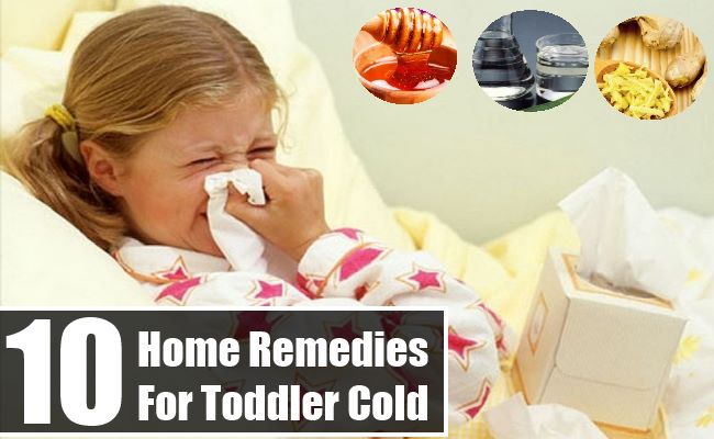 Home Remedies For Toddler Cold