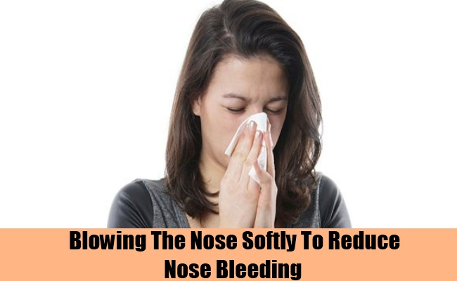 Blowing The Nose Softly