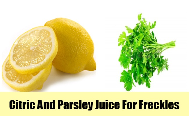 Citric And Parsley Juice