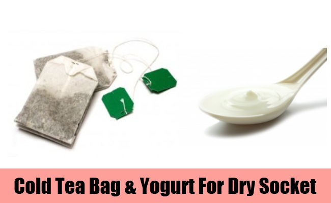 Cold Tea Bag & Yogurt