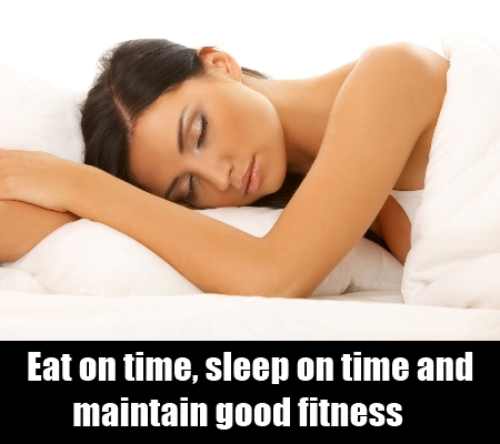 adhere to healthy lifestyle