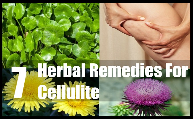 7 Herbal Remedies For Cellulite - Best Herbs For Cellulite..