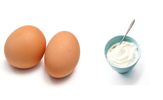 Eggs And Yogurt