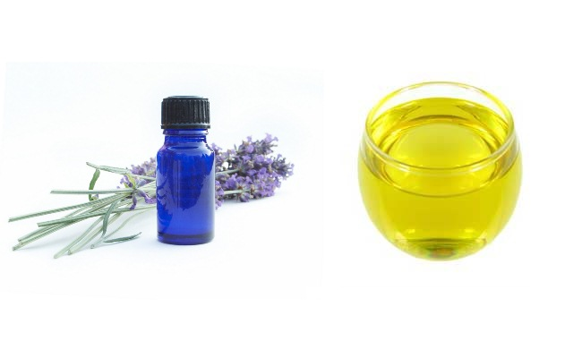 Lavender Oil & Plantain Oil