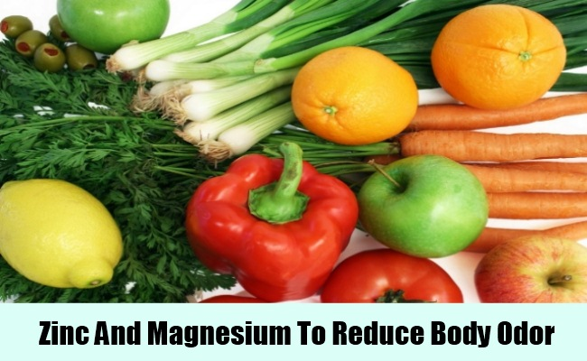Magnesium And Zinc For Body Odor