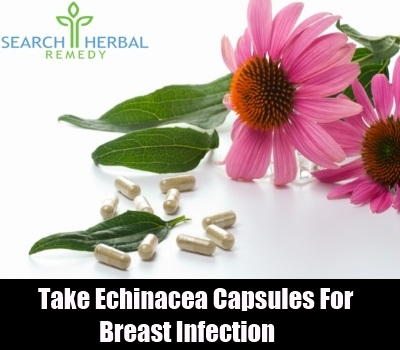 how to get rid of breast infection