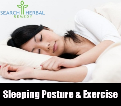 sleeping posture & exercise