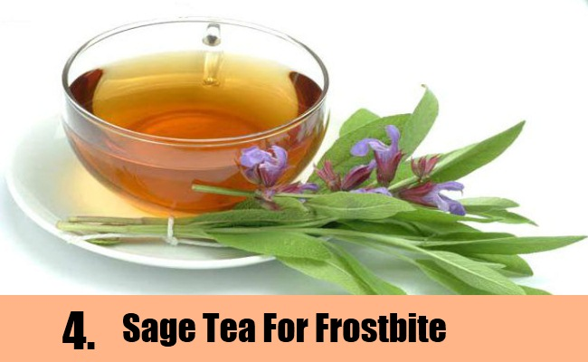 Sage Tea To Cure Frostbite