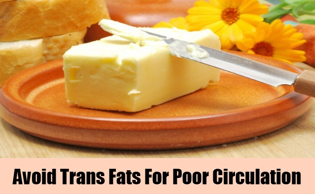 Say No To Trans Fats And Saturated Fats