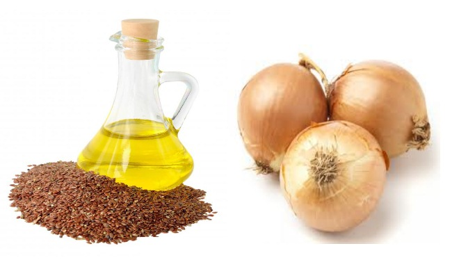 Flax Seed Oil And Onion