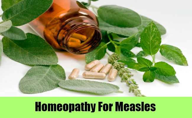 Homeopathy For Measles Treatment