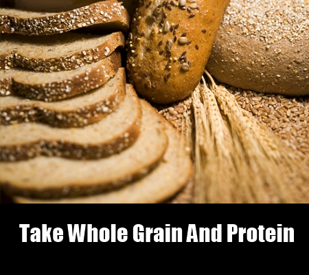 whole grain and protein