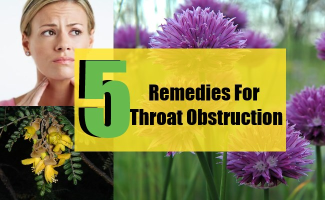 5 Remedies For Throat Obstruction