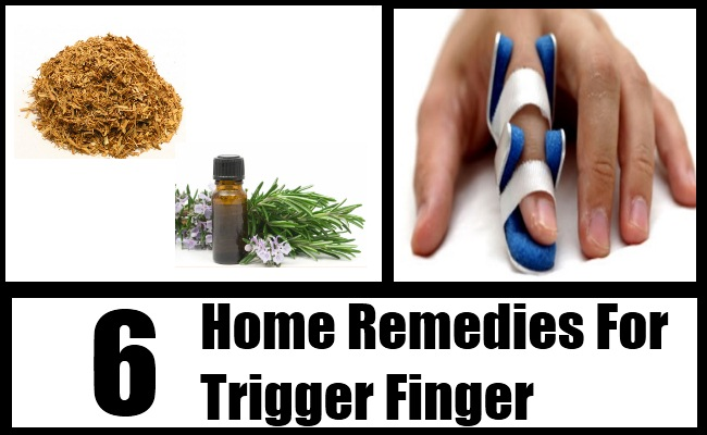 6 Trigger Finger Home Remedies, Natural Treatments And