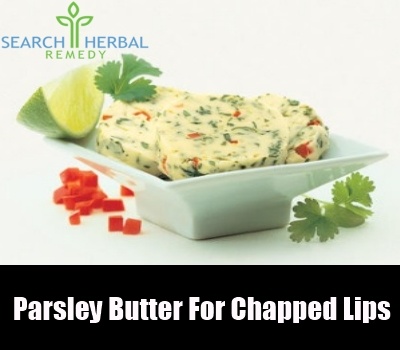 parsley butter