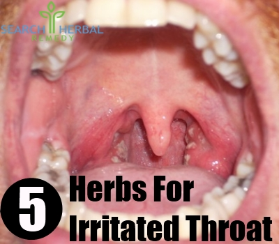 irritated throat