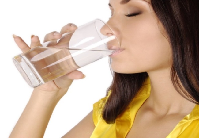 Drink Water For Teeth Whitening
